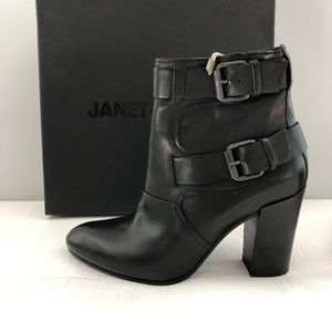 Janet and Janet womens leather ankle boots